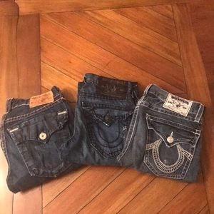 True Religion Jeans Men's- Bundle of three